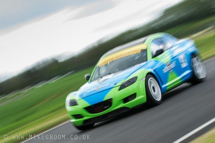 New PB for RX-8 at Castle Combe